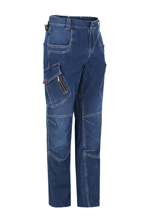 PANTALON MULTIBOLSILLOS DENIM